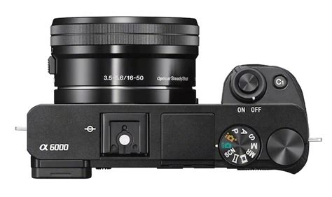 Sony A6000 gets zebra, 16:9 screen and clean HDMI output
