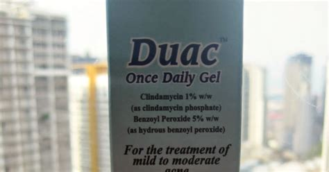 To Flawless: Review: Duac Once Daily Gel